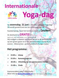 foto internationale yoga dag